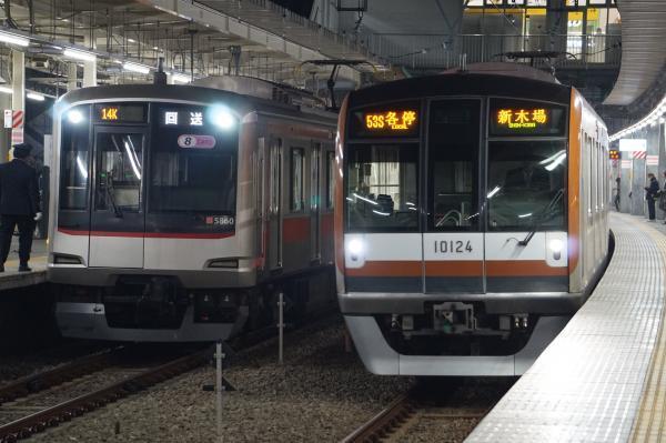 2016-12-20 東急5160F メトロ10124F