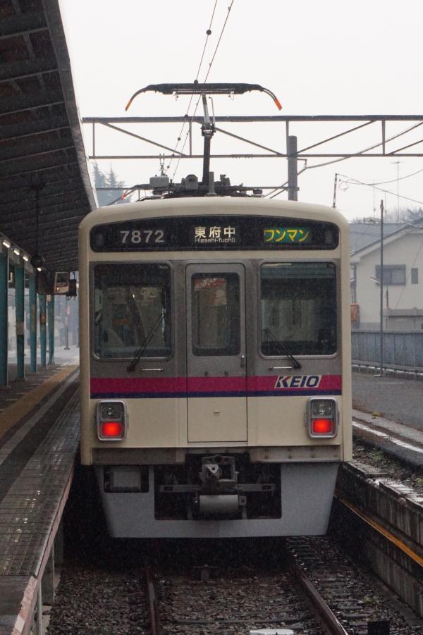 2016-12-22 京王7422F ワンマン東府中行き
