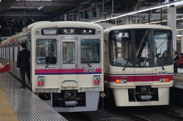 2016-12-22 京王7709F 8733F