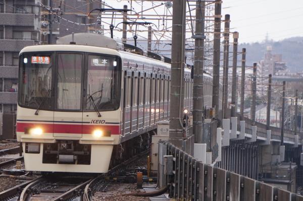 2016-12-22 京王8703F 準特急橋本行き