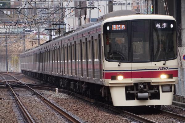 2016-12-22 京王8703F 準特急新宿行き