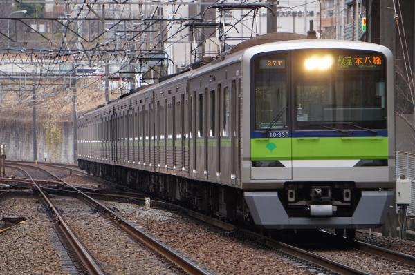 2016-12-22 都営10-330F 快速本八幡行き