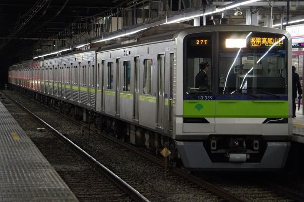 2016-12-22 都営10-330F 各停高尾山口行き