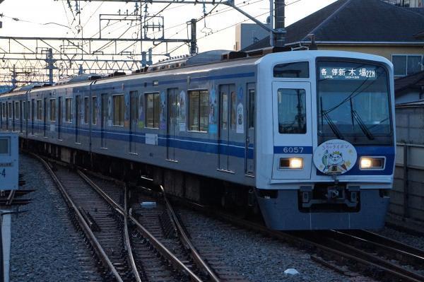 2016-12-24 西武6157F 各停新木場行き 6380レ
