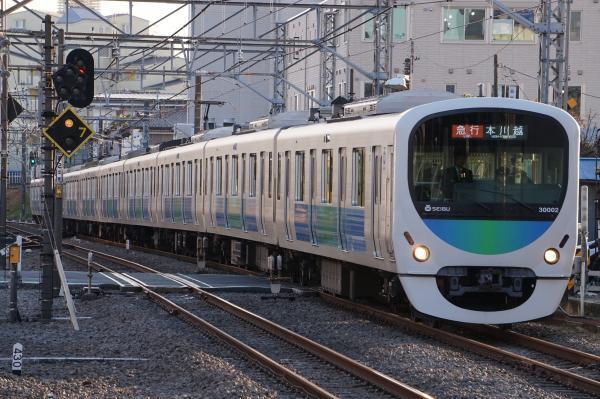 2016-12-24 西武30102F 急行本川越行き 2669レ