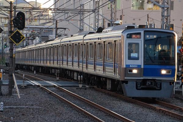 2016-12-28 西武6101F 急行本川越行き 2661レ