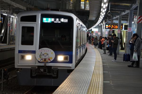 2016-12-28 西武6157F 準急新木場行き 4584レ
