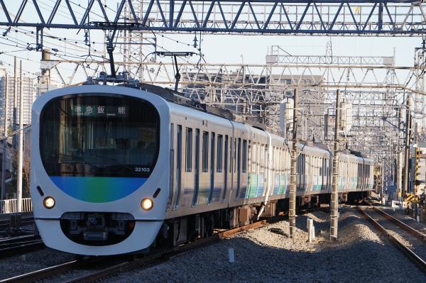 2016-12-28 西武32103F_38105F 準急飯能行き 4141レ