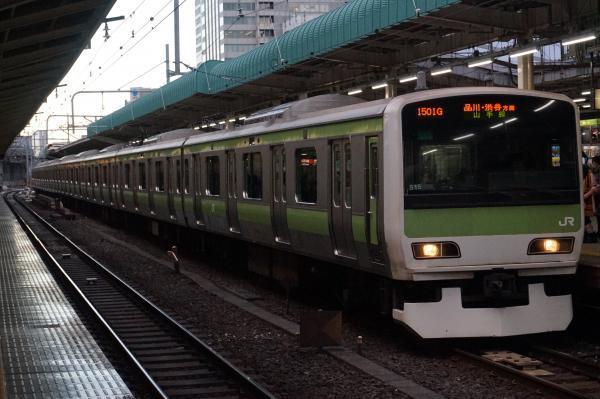 2016-12-15 山手線E231系トウ515編成 品川・渋谷方面行き