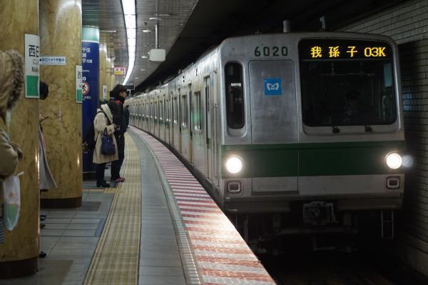 2017-01-18 メトロ6120F 我孫子行き