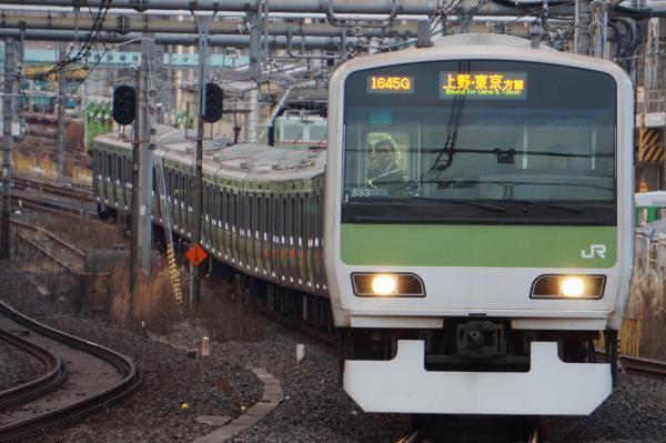 2017-01-18 山手線E231系トウ533編成 上野・東京方面行き