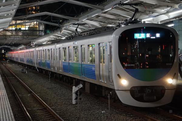 2017-01-19 西武32101F_38103F 快速飯能行き 3101レ