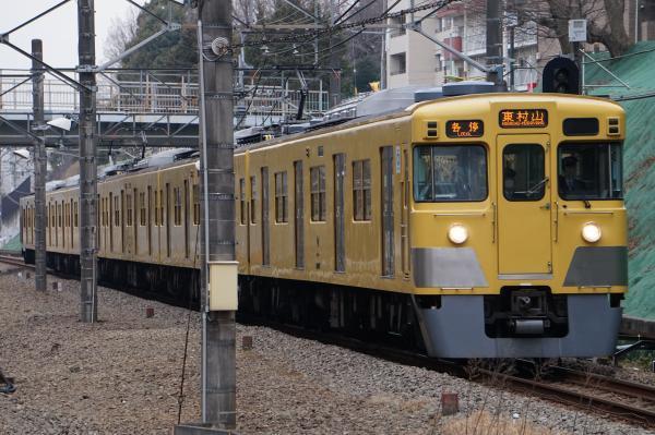 2017-01-20 西武2027F 各停東村山行き 6700レ