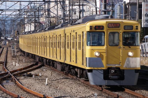 2017-01-21 西武2005F 各停西武新宿行き 5606レ