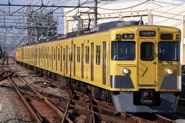 2017-01-21 西武2007F 各停西武新宿行き 5618レ