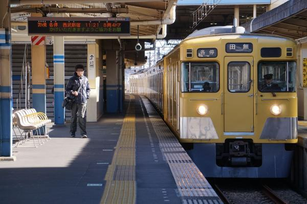 2017-01-21 西武2007F 各停田無行き 5125レ