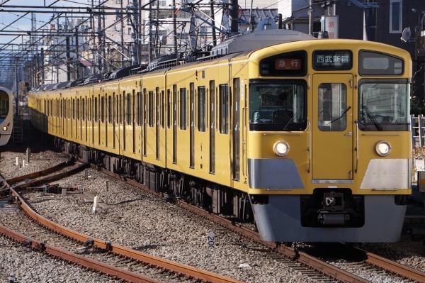 2017-01-21 西武2049F_2531F 急行西武新宿行き 2656レ