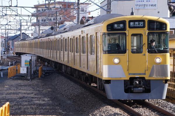 2017-01-21 西武2083F 各停新所沢行き 5811レ