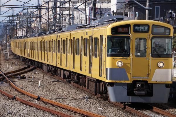 2017-01-21 西武2543F_2053F 急行西武新宿行き 2652レ