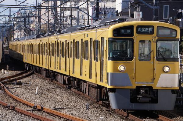2017-01-21 西武2545F_2519F 各停西武新宿行き 5820レ