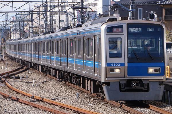 2017-01-21 西武6102F 急行西武新宿行き 2326レ
