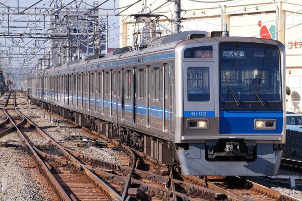2017-01-21 西武6102F 急行西武新宿行き 2670レ