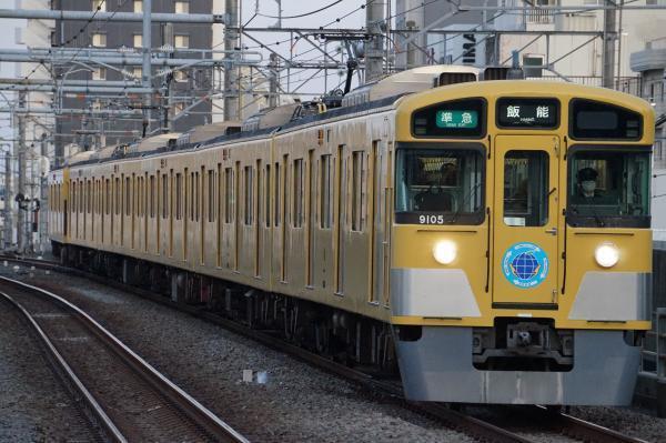 2017-01-21 西武9105F 準急飯能行き 4121レ
