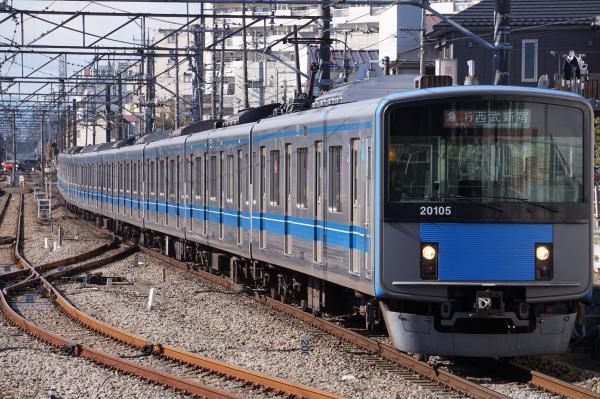 2017-01-21 西武20105F 急行西武新宿行き 2654レ