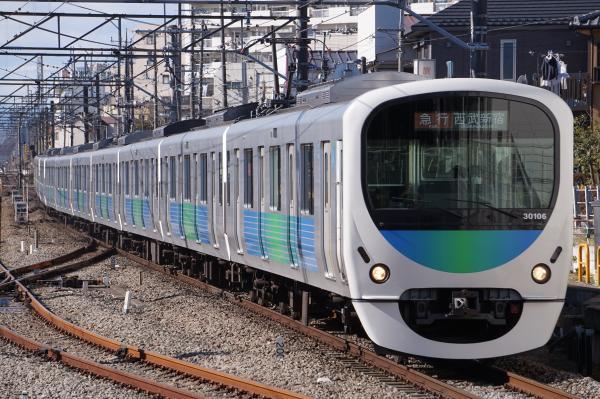 2017-01-21 西武30106F 急行西武新宿行き 2324レ