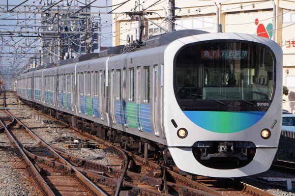 2017-01-21 西武30106F 急行西武新宿行き 2668レ