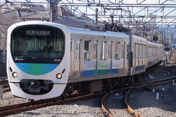 2017-01-21 西武38102F 各停西武新宿行き 5128レ