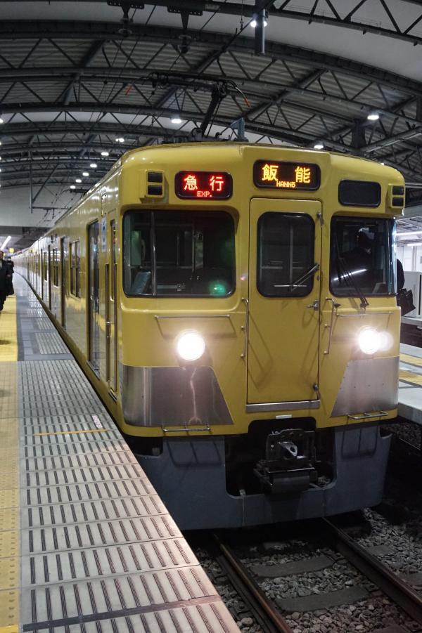 2017-01-23 西武2413F_2081F 急行飯能行き 2189レ
