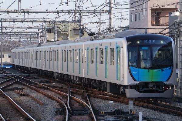 2017-01-28 西武40101F 試運転1