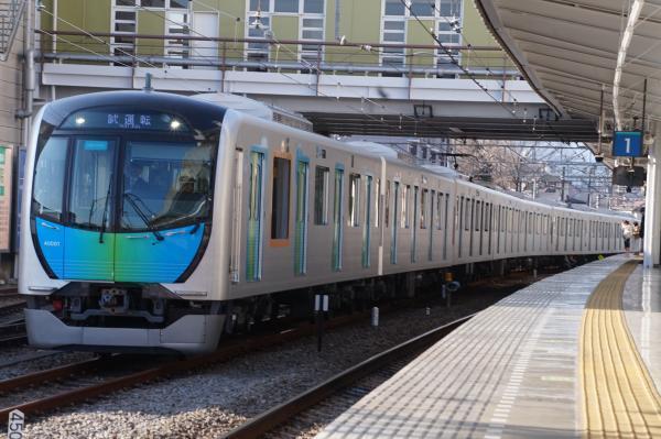 2017-01-28 西武40101F 試運転2