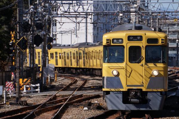 2017-02-04 西武2007F 各停小平行き 5408レ