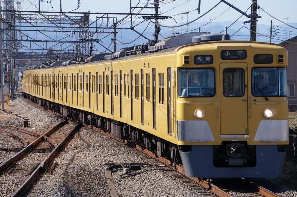 2017-02-04 西武2007F 各停小平行き 5410レ