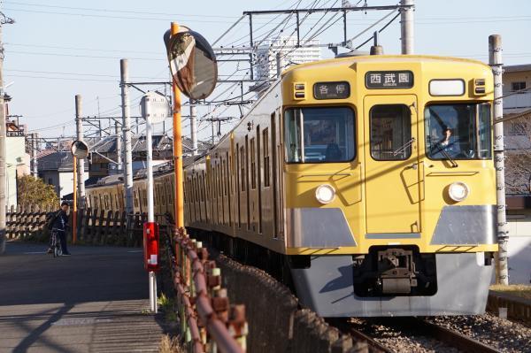 2017-02-04 西武2015F 各停西武園行き 6263レ
