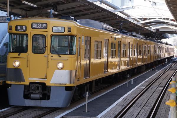 2017-02-04 西武2031F 各停国分寺行き 6680レ