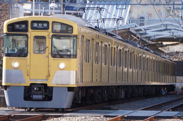 2017-02-04 西武2051F 各停国分寺行き 6260レ