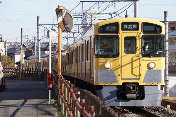 2017-02-04 西武2051F 各停西武園行き 6261レ