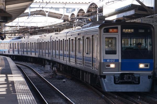 2017-02-04 西武6102F 急行西武新宿行き 2326レ