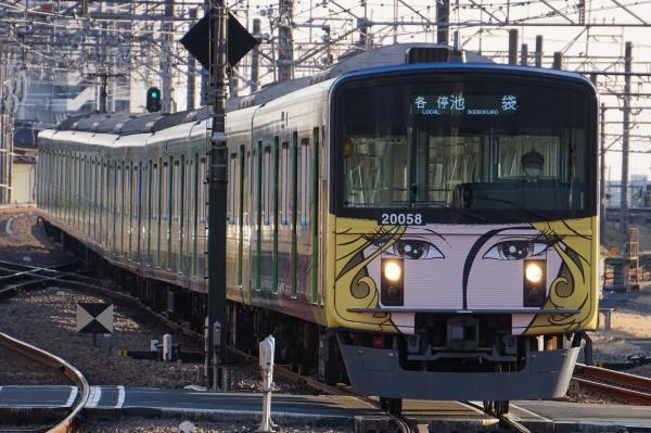 2017-02-04 西武20158F 各停池袋行き 5114レ