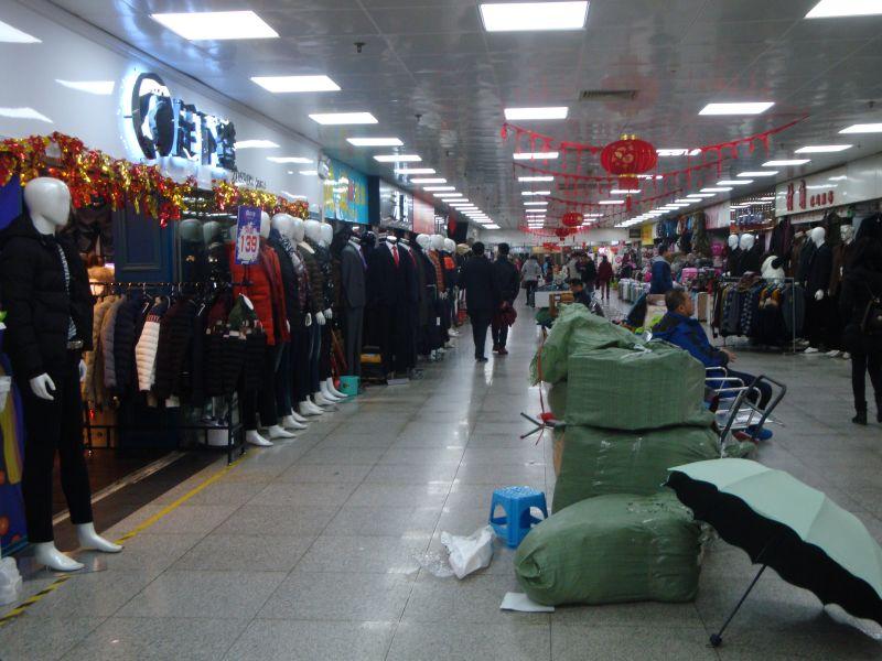 中国の地下街