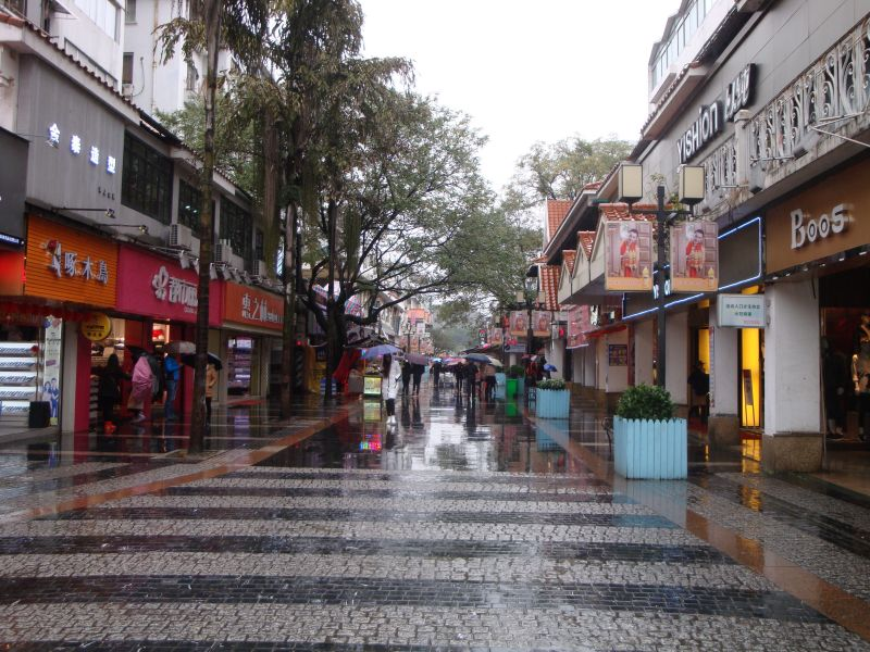 桂林の商店街
