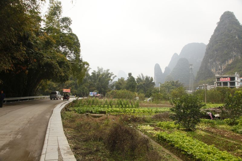 漓江遊歩道ルート