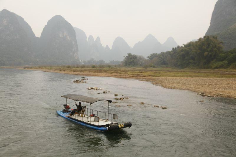 漓江筏ボート