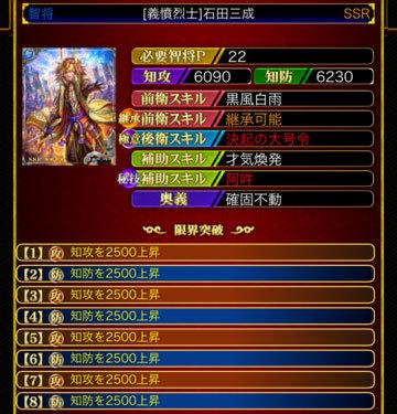 石田三成22-8凸