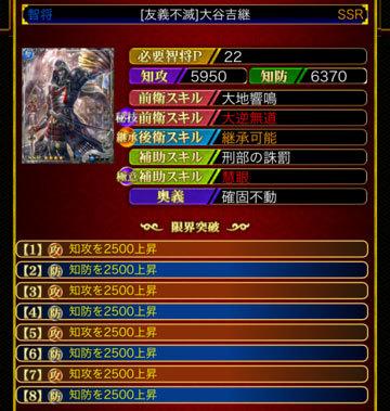 大谷吉継22-8凸