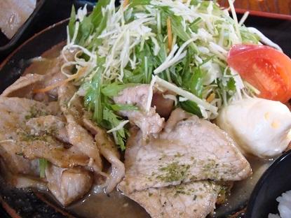 生姜焼きup