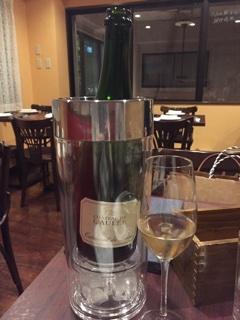 スパークリングワインボトル